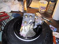 Shed Wheel/Brake